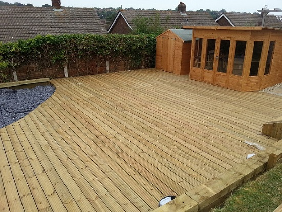 Timber decking supplies branch bros deeping and bourne for 6 metre lengths of decking