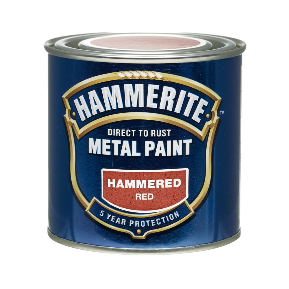 White Hammerite Paint