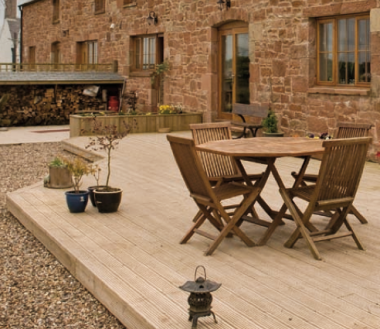 Timeless Timber Decking